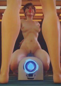 [SFM] Baronstrap – Overwatch Tracer x Brigitte
