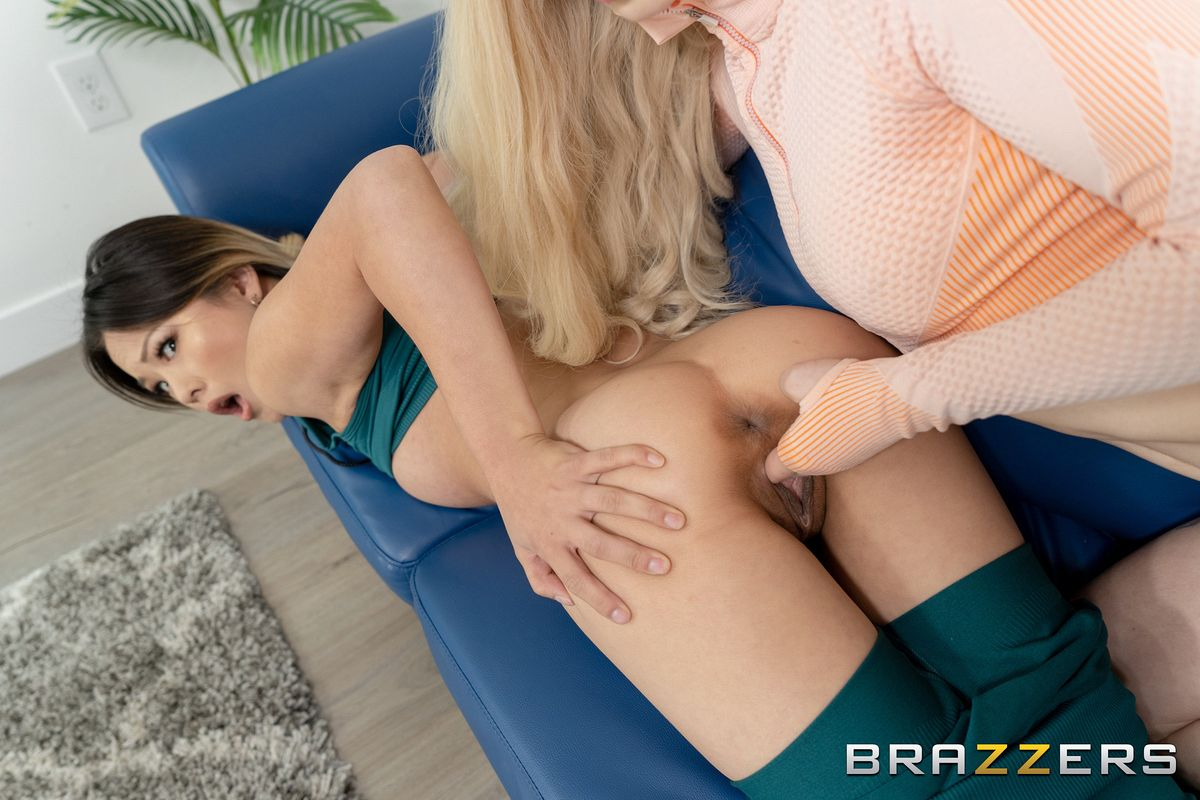 [Brazzers] Kenzie Reeves, Lulu Chu – Workout To Squirt Out